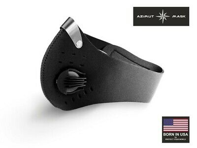 Respro Style USA Azimut Anti Pollution Carbon Cycling Protection Mask HN79 PM2.5 • 22.99£