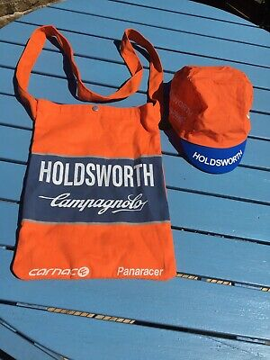 Holdsworth Campagnolo Cycling Cap & Musette • 2.40£