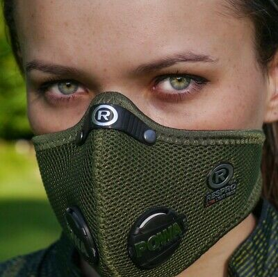RESPRO Ultralight Anti-Pollution Filtered Face Mask For Cycling & Motorcycling • 49.99£