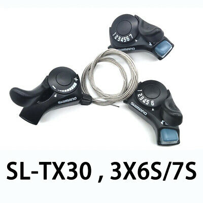 Shimano Tourney SL-TX30 Thumb Gear Shifters 3,6,7 Speed Shift Lever And Set • 12.98£