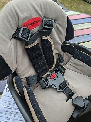 WeeRide Safe Centre Mounted Front Baby / Child Bike Cycle Seat With Head Rest • 37£