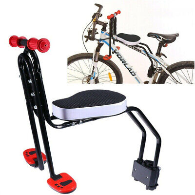 UK Safety Child Baby Kids Bike Bicycle Seat Front Carrier With Handrail Armrest • 37.56£
