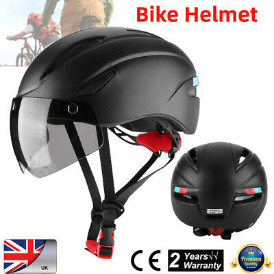 Bike Cycling Helmet Women Men Bicycle Helmet MTB Bike Mountain Road Cycling UK • 17.54£