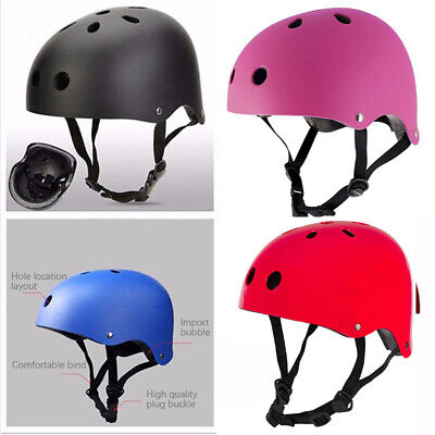 Adult/ Kids Bmx Skate Helmet Bike/bicycle/cycle Scooter/board Safety Skating Hat • 12.99£