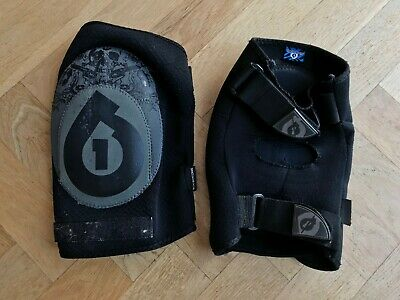 SixSixOne 661 Veggie Knee Wrap MTB Pads Armour, Size Large • 10.50£
