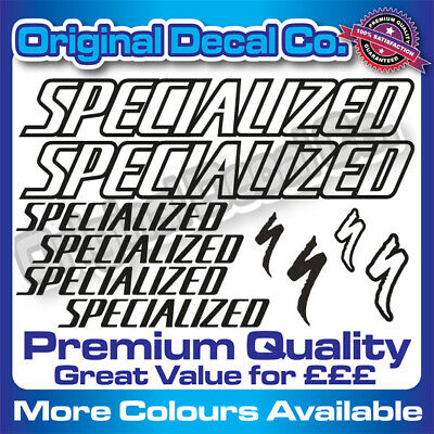 Premium Quality Specialized Bike Decals Stickers Mountain Bike Road Frame Mtb • 6.99£
