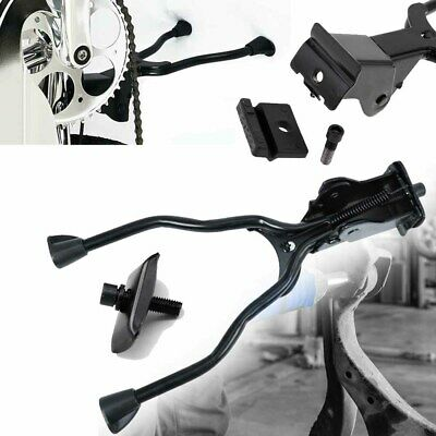 Double Leg Bicycle Stand Kick Parking Rack Mountain Bike Side Support Kickstand • 9.69£