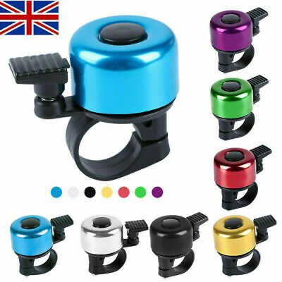 Bicycle Bell Bike Handlebar Bell Horn Touch Ring Bike Accessory • 2.99£