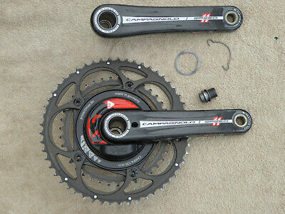 Power2max Campagnolo Power Meter Crankset 11-speed 175mm 53/39 • 300£