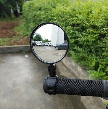 360° Rotate Bike Bicycle Cycling Side Rear View Handlebar Best Rearview Mirror • 2.90£