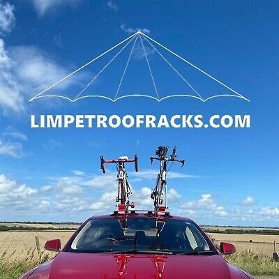 Limpet 2 Bike Suction Roof Rack Black + Carry Bag. UK Stock. UK Company.  • 149.99£