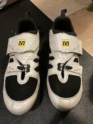 Mavic Tri Shoes 46/11 With Cleats • 30£