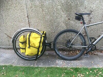Extrawheel Bicycle Luggage Trailer Complete With Large Panniers 29  Wheel • 210£