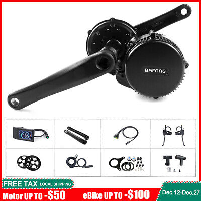 48V 750W BAFANG BBS02 Mid Drive Motor Electric Bike Conversion Kits With Battery • 493.30£