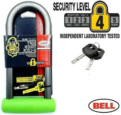 BELL D / U Shaped Bike Lock Cycle. Bicycle. Motorbike, Scooter & Bmx Security • 15.99£