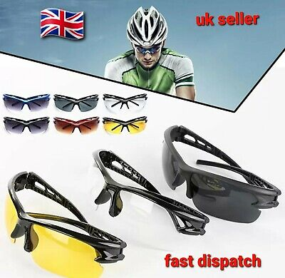 Cycling Glasses Biking Riding MTB UV Protection Outdoor Sports Goggles Glasses • 5.95£