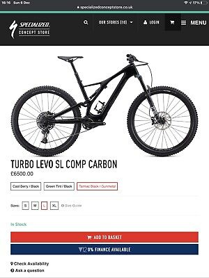 Specialized Turbo Levo Sl Full Suspension Carbon Electric Mountain Bike 2021 New • 5,900£