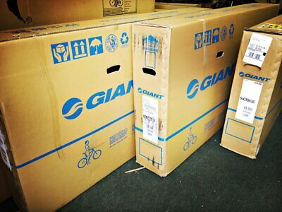 Large Bike Cycling Cardboard Shipping Postage Box Ideal For Frame Or Full Bike • 18.99£