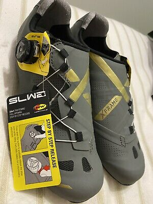 Northwave Extreme GT Cycling Shoes - Anthracite/Gold - Size 6.5/40 • 70£
