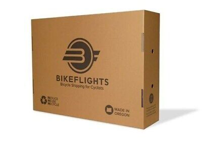 Large Bike Cycling Cardboard Shipping Box Ideal For Frame Or Complete Bike • 18.99£
