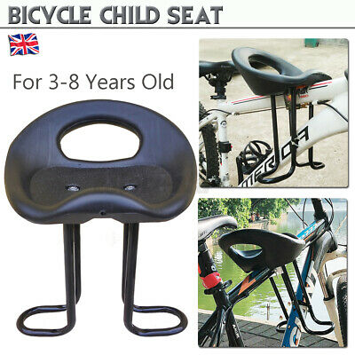 Child Seat Top Tube For Bike Front Mount Quick Dismount Safety Carrier J • 23.71£
