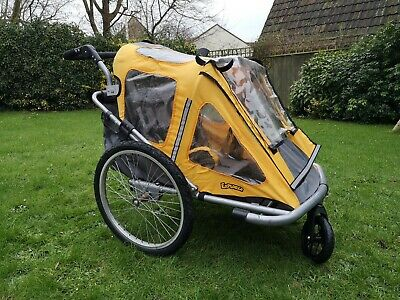 2in1 Bike Trailer/buggy For Kids, The Dog Or Touring. • 10.50£