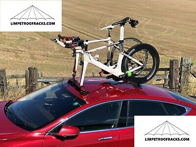 Limpet 2 Bike Suction Roof Rack Red +Carry Bag.UK Stock. UK Company +Thru Axle • 154.99£