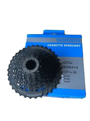 8 Gear Cassette Sprocket CS-HG31-8. Brand New, Unused. Purchased In Error. • 9.51£