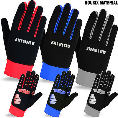 Winter Thermal Cycling Full Fingers Gloves Cycle Silicone Grip Roubiax Material • 4.49£