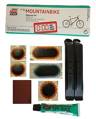 Rema Tip Top Tt 05 Mountain Bike Puncture Repair Kit Patches Bicycle Inner Tube • 3.99£