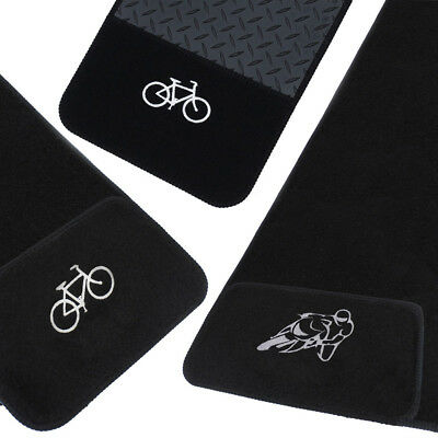 JVL Rubber Carpet Bike Motorbike Floor Protector Mat Anti Slip Hallway Garage • 24.99£