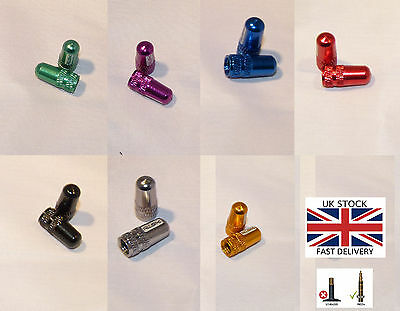Bicycle Presta Aluminium Valve Caps Cycling Cyclist-Brand New-UK STOCK • 1.89£