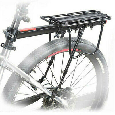 Bike Bicycle Quick Release Luggage Seat Post Pannier Carrier Rear Rack Fender • 15.97£