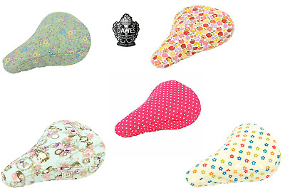 Dawes Heritage Colourful Weather Resistant Padded Comfort Bike Seat Saddle Cover • 8.99£