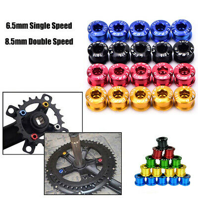 Litepro Bike Chainring Bolts Single/Double/Triple Speed Chainwheel Screws Bolt • 8.99£