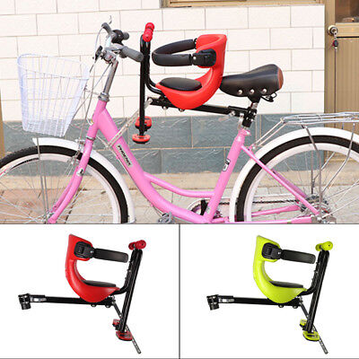 Bicycle Bike Front Seat Safety Stable Baby Child Kids Chair Carrier Sport Seats • 16.99£