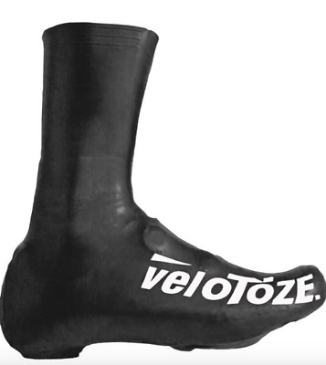 VeloToze Shoe Cover Waterproof Overshoes Long Tall Standard Or MTB Black Red • 18.89£