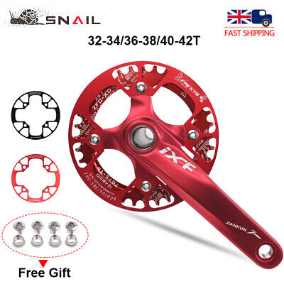 UK 32-42t MTB Road Bike Chainwheel Guards 104bcd Chain Guard Protection Cover • 10.66£
