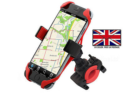Bicycle Bike Mount Handlebar Phone Holder Cradle For Apple IPhone 11 Pro Max • 9.95£