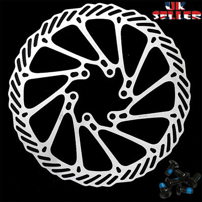 MTB Bicycle Disc Brake Rotor 160/180/203mm 6-Hole Disc Rotor Fit SHIMANO SRAM • 9.69£