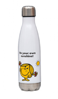 NEW Little Miss Sunshine Stainless Steel Drink Water Bottle BPA Free Sustainable • 13.40£