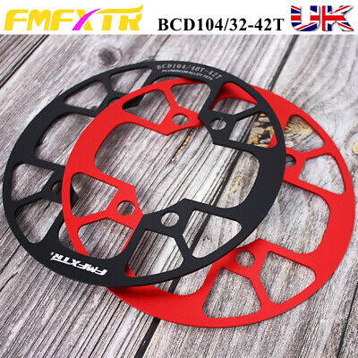 Aluminum Chainring Guard 104BCD 32-42T MTB Bike Crankset Sprockets Chainwheel • 12.76£