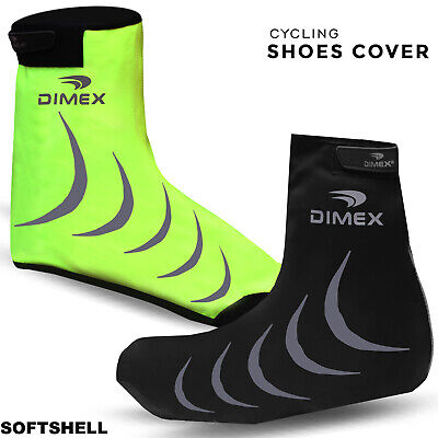 Cycling Shoe Cover Water Resistant Overshoe Windproof Softshell Outdoor M To XXL • 8.09£