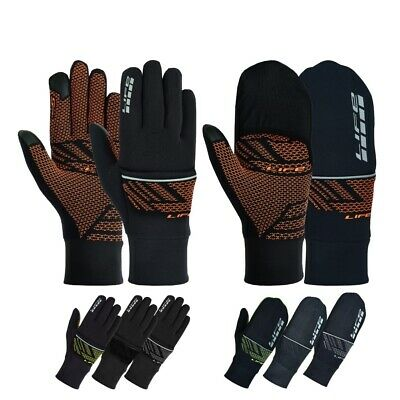 LIFE Cycling Gloves Waterproof Bike Gloves Convertible Bicycle Mitten Windproof • 8.95£