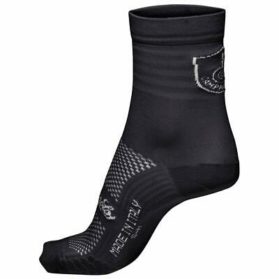 NEW Campagnolo Litech Summer Road Cycling Socks - Black - Made In Italy • 11.99£