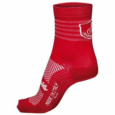 NEW Campagnolo Litech Summer Road Cycling Socks - Red - Made In Italy • 7.49£