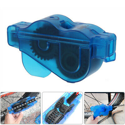 Chain Cleaner Road Bicycle Cleaning Machine Tool Brush Mtb Cleaner Tool Uk • 6.81£