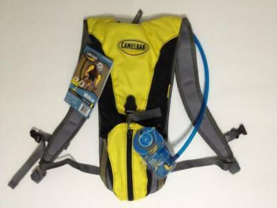 New CAMELBAK Rogue 2 Litre Bike Hydration Pack (Yellow With Black And Grey) • 45£
