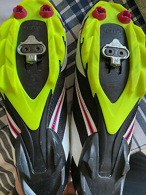 North Wave Cycling Shoes, With New Cleats. EUR 42, UK8.5. Velcro. Worn Once. • 10£