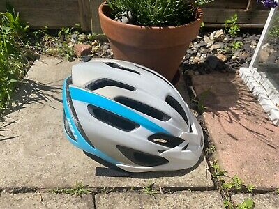 Blue And White Girls Or Boys Bell Bike Helmet In Very Good Condition Hardly Used • 14.50£
